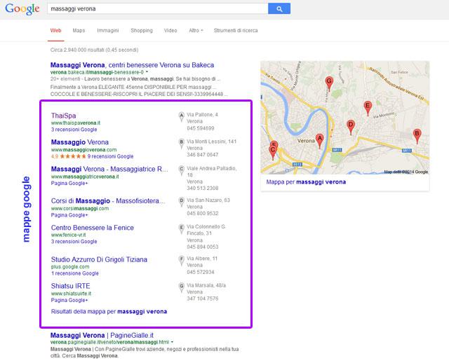 mappe google mybusiness